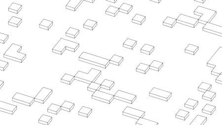 Abstract geometric background, modern pattern design, vector illustration