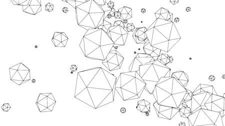 Abstract background, modern geometric pattern design, vector illustration