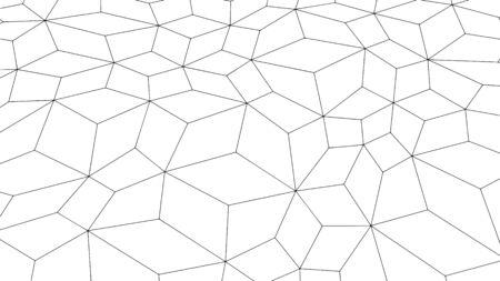 Abstract background texture, modern geometric pattern design, vector illustration 矢量图像