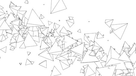 Abstract geometric background design, modern pattern, vector illustration 矢量图像