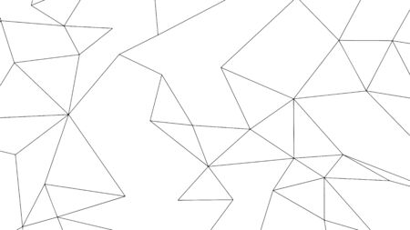 Abstract geometric background design, modern triangulated pattern, vector illustration