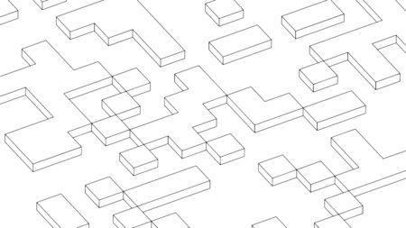 Abstract background, geometric texture design, modern pattern, vector illustration 矢量图像