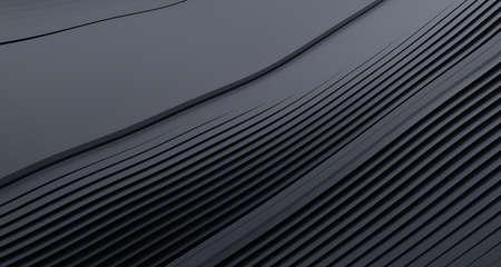 Abstract 3d render, modern illustration, background design