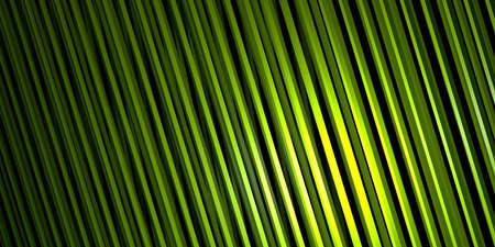Abstract 3d render, green background design, modern illustration