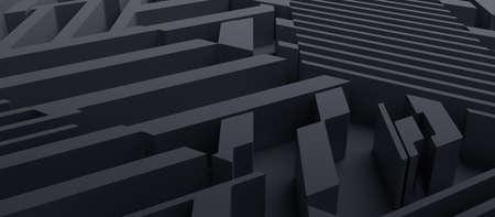 Abstract 3D Render 免版税图像