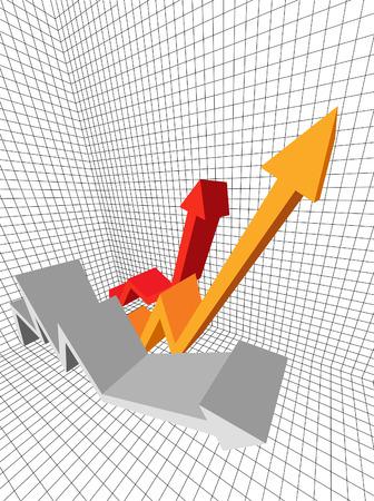 fiscal: graph Illustration