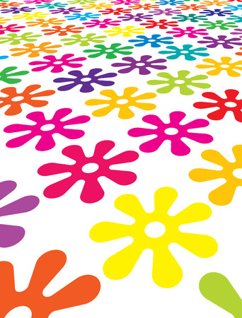 floral field Stock Vector - 5884277