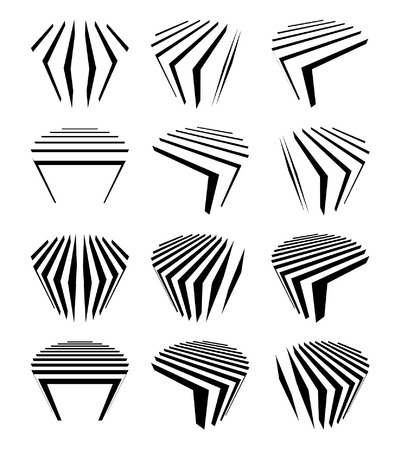 Collection of cylinders Vector
