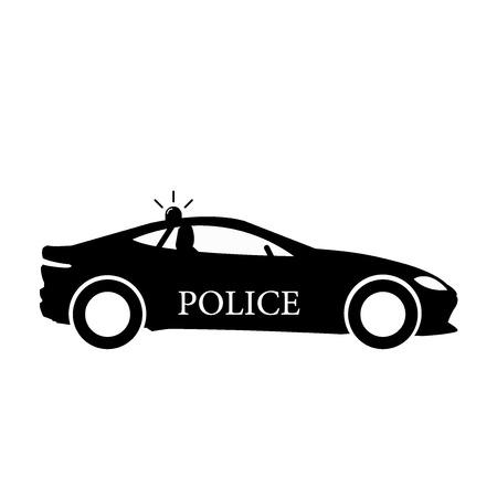 Police Car icon vector illustration
