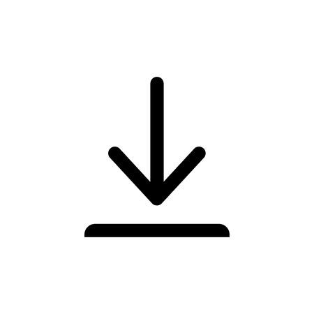 Download vector icon, install symbol. Modern, simple flat vector illustration for web site or mobile app Illustration