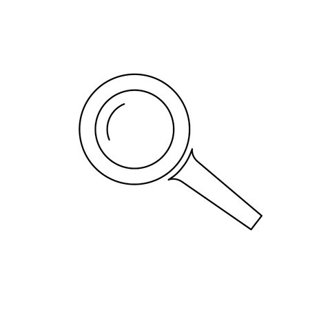 magnifying glass icon. Search Icon. Vector illustration