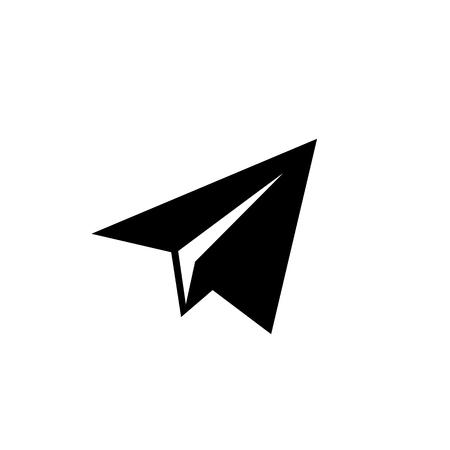 Paper plane icon. vector icon