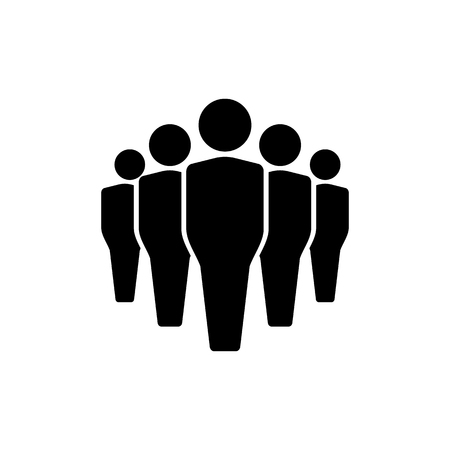 Man icons set, team icon group. vector illustration Ilustração