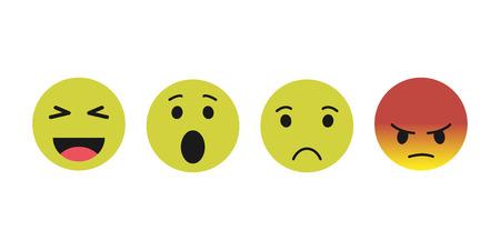 smile icon. vector icons modern style Ilustração
