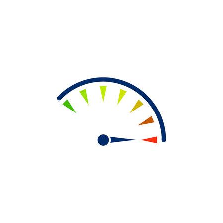 Speed icon. vector symbol on white background EPS10