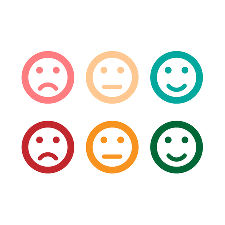 smile icon. vector icons modern style Imagens - 126344417