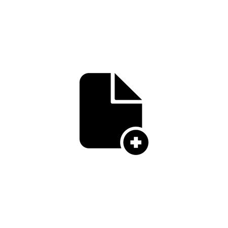 Document vector icon. Illustration isolated on white background. EPS10 Imagens - 126344424
