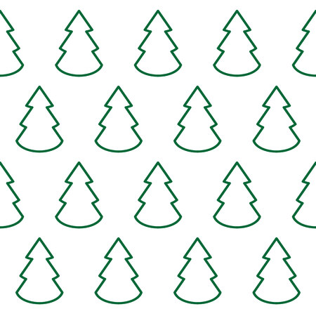 Christmas trees icon, background. vector symbol EPS10