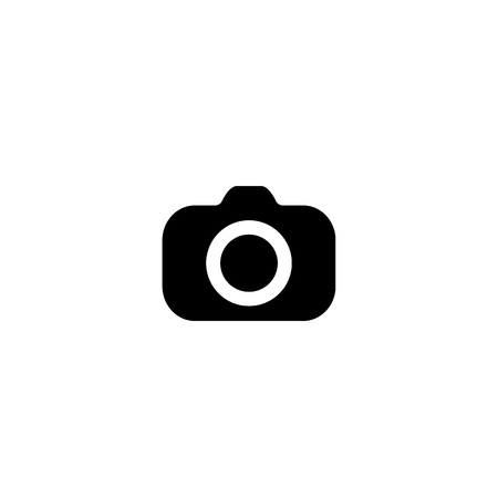 Camera Icon. vector symbol isolated on white background. EPS10 Imagens - 126344440