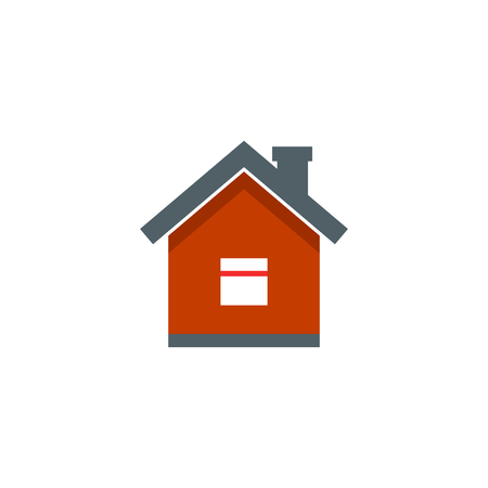 home icon, vector real estate house Imagens - 126344456