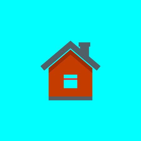 home icon, vector real estate house, vector symbol EPS10