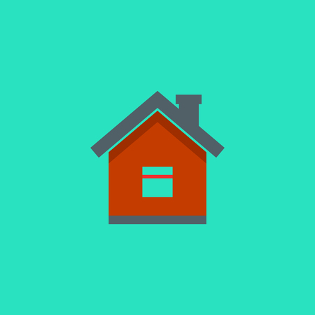 home icon, vector real estate house, vector symbol EPS10 Imagens - 126344458