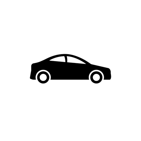 Car icon. monochrome icon in flat style EPS10 Imagens - 126344488