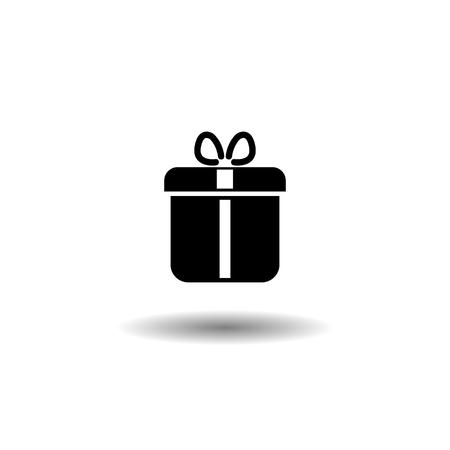 Illustration of gift icon on white background EPS10 Imagens - 126344489
