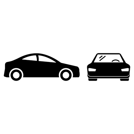 Car icon. monochrome icon in flat style EPS10 Imagens - 126344500
