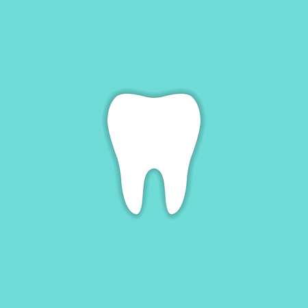 Tooth Icon vector symbol health concept sign EPS10