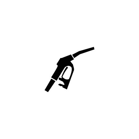 Gasoline pump. vector symbol on white background Imagens - 123170991