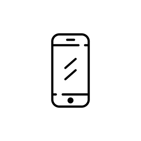 Mobile phone icon. Vector Symbol Imagens - 123170998