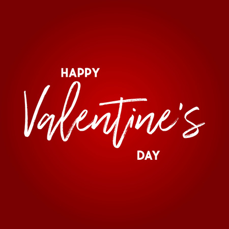 Happy Valentines day card. modern background vector illustration Imagens - 122702503