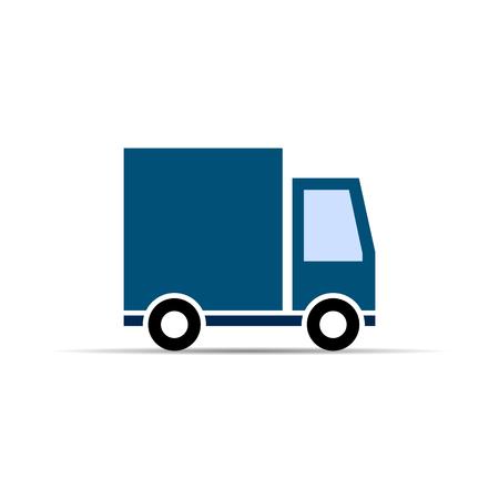 Delivery track icon. vector symbol