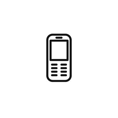 smartphone icon. vector flat icon Ilustrace