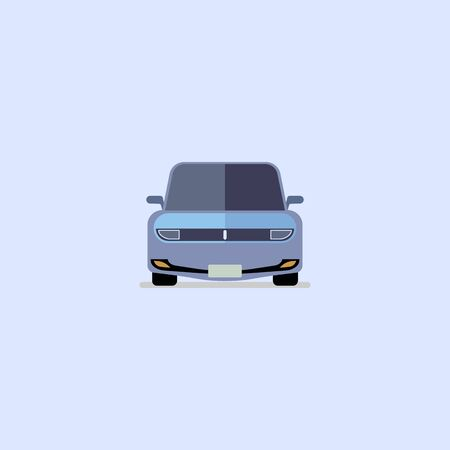 Car icon modern flat design on whitw background EPS10 Illustration