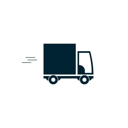 Truck icon on white background. delivery car icon. Vector symbol EPS10 Stockfoto - 142961404