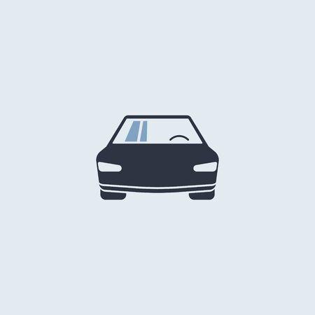 Car icon. vector symbol simple flat modern style EPS10