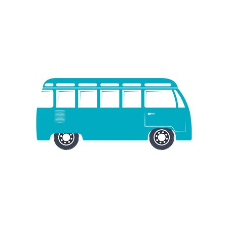 Bus icon vector, solid illustration, pictogram isolated on white background. travel bus icon EPS10