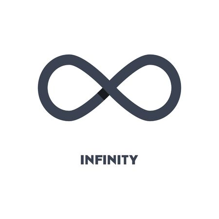 Limitless sign icon. Infinity symbol isolated on white background