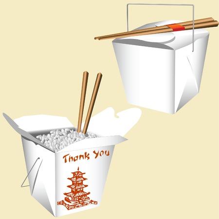 中国食品  イラスト・ベクター素材