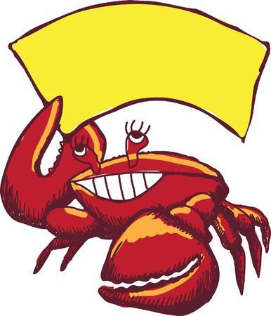 cangrejo caricatura: Cangrejo