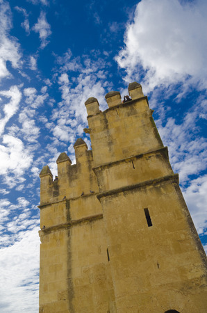 fortification: Fortification tower in Cordoba, Spain Editorial
