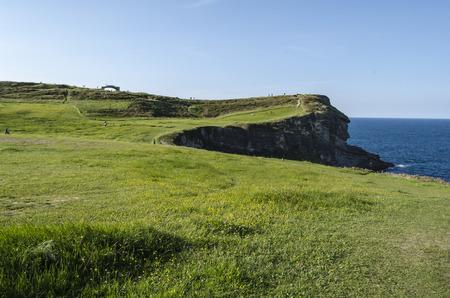 northern spain: Green coastline, Northern Spain
