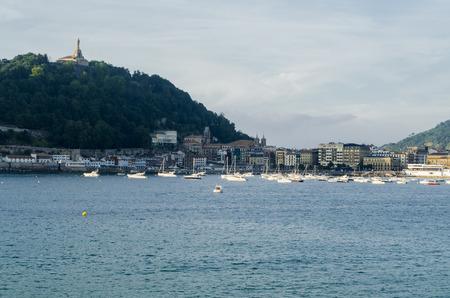 san sebastian: San Sebastian cityscape, Basque Country, Spain Stock Photo
