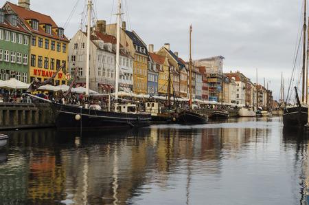 copenhagen: Copenhagen harbor, Denmark