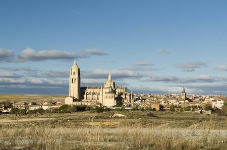 segovia: Segovia city view