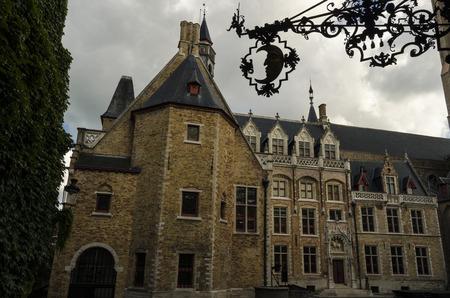 bruges: Bruges city view Stock Photo