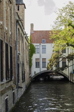 bruges: Bruges cityscape Stock Photo