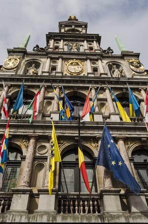 antwerp: Antwerp city view Stock Photo